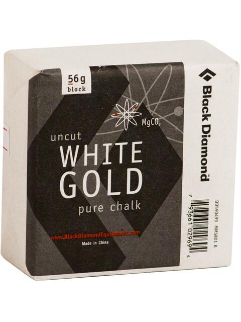 Black Diamond Solid White Gold - Block 56gr